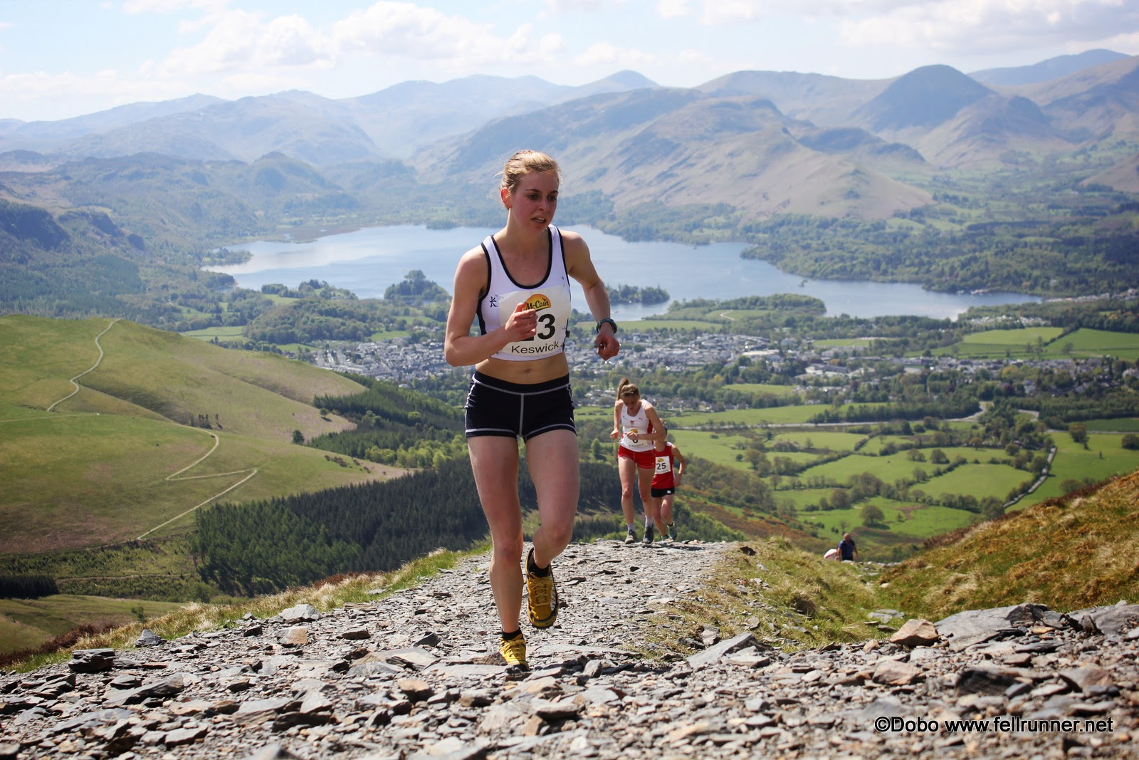 Scout on Skiddaw Lake District in GB Trials 2013